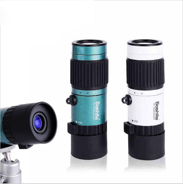 High Quality Powerful binoculars 15-75x25 HD Flexible focus High Power Mini Monocular Zoom Telescope For Pocket travel hunting