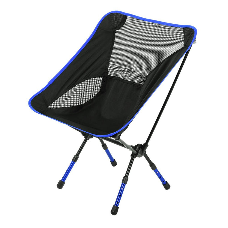 Outdoor Fishing Chair Heightened Chair Seat Foldable Stool Outdoor Equipment Camping Retiform Ventilate Back-rest Chair