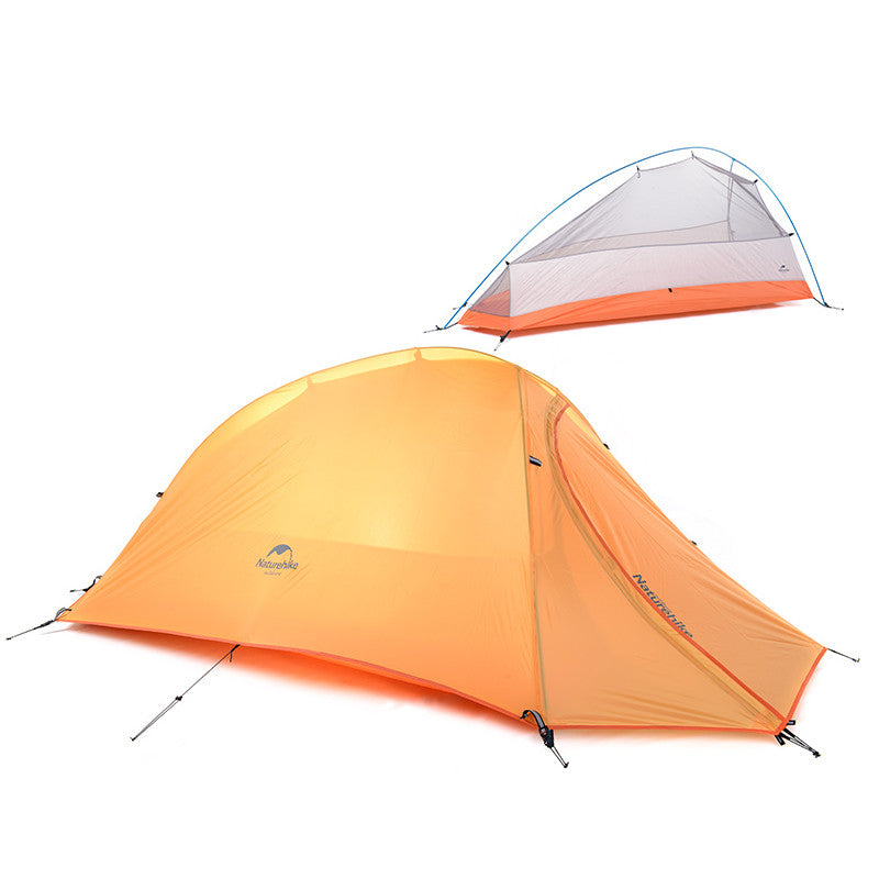 NatureHike 1 Person Tent  Double-layer Tent  Waterproof  Dome Tent Camping 4 seasons Tent NH15T001-T
