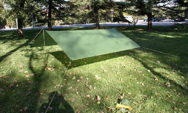3*3m 210T with silver coating 3F UL Gear outdoor tarp shelter high quality forest beach awning