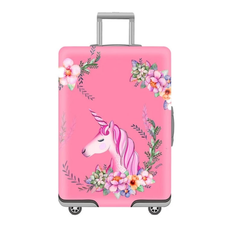 Cute 3D Colorful Arrow Begie Pattern Luggage Protector Travel Luggage Cover Trolley Case Protective Cover Fits 18-32 Inch