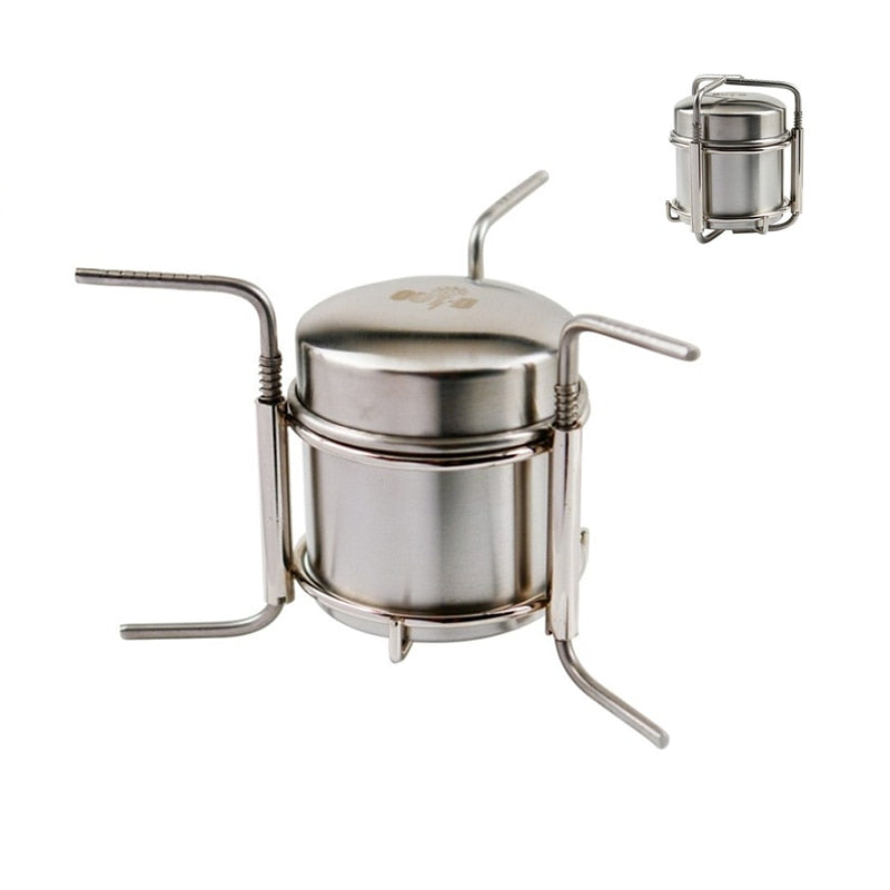 Stainless Steel Alcohol Stove Camping Stove Cooking stove B-1