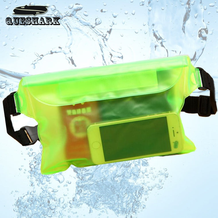Waterproof Ski Drift Diving Swimming Bag Underwater Dry Shoulder Waist Pack Bag Pocket Pouch for iphone 6 7 case cover/camera