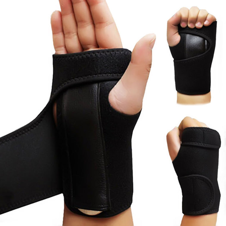 Removable Adjustable Wristband Steel Wrist Brace Support Arthritis Sprain Carpal Tunnel Splint Wrap