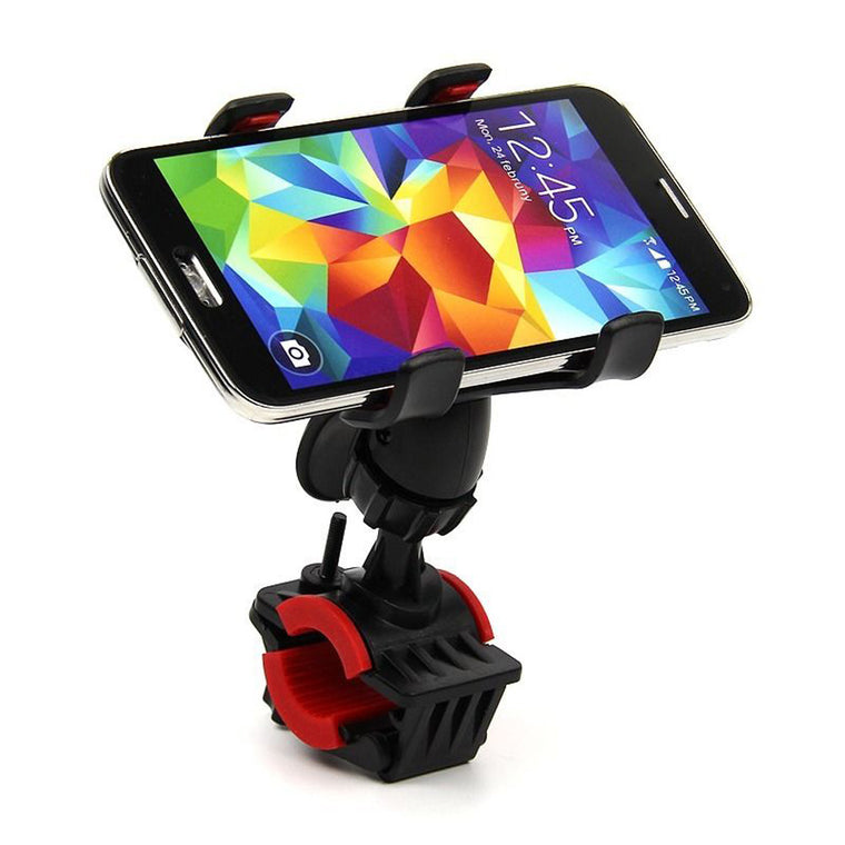 S031 360 Degree Universal Plastic Motorcycle Bicycle Handlebar Mount Holder for Cell Phone GPS Stand Holder BHU2