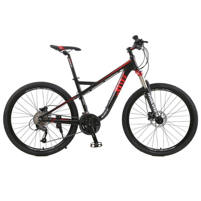 "MAKE Mountain Bike Aluminum 19"" Frame Shimano 27 Speed 9 Speed 27,5"" Wheel Hydraulic Disc Brake"