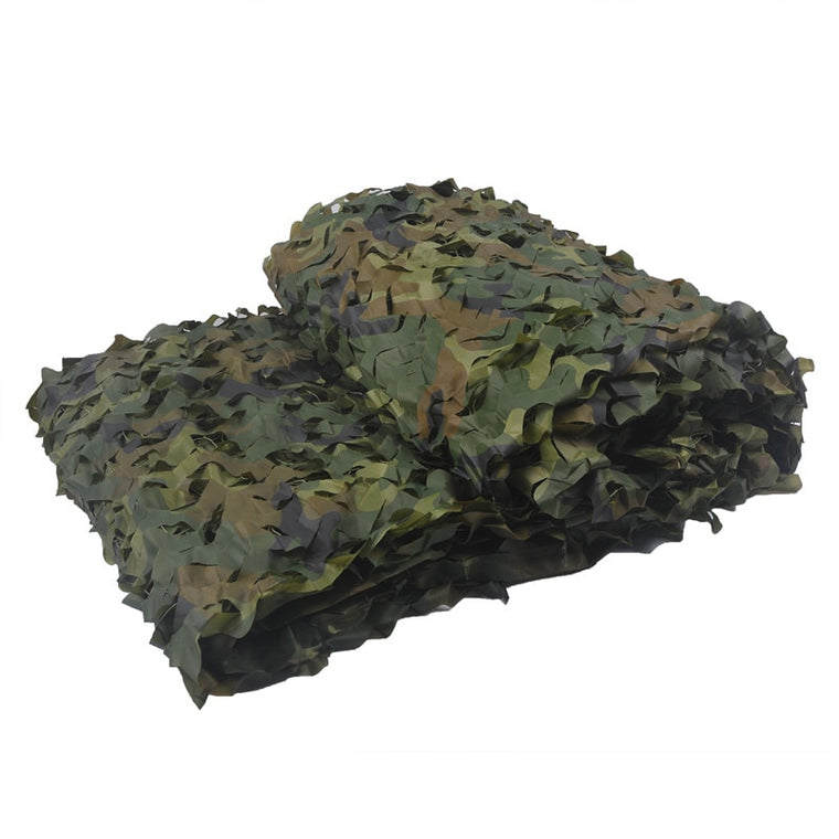 1.5M*2M Filet Military Camouflage Net 150D Polyester Oxford Camouflage Net Hunting Camping Tourist Tent Filet Military Camo Net