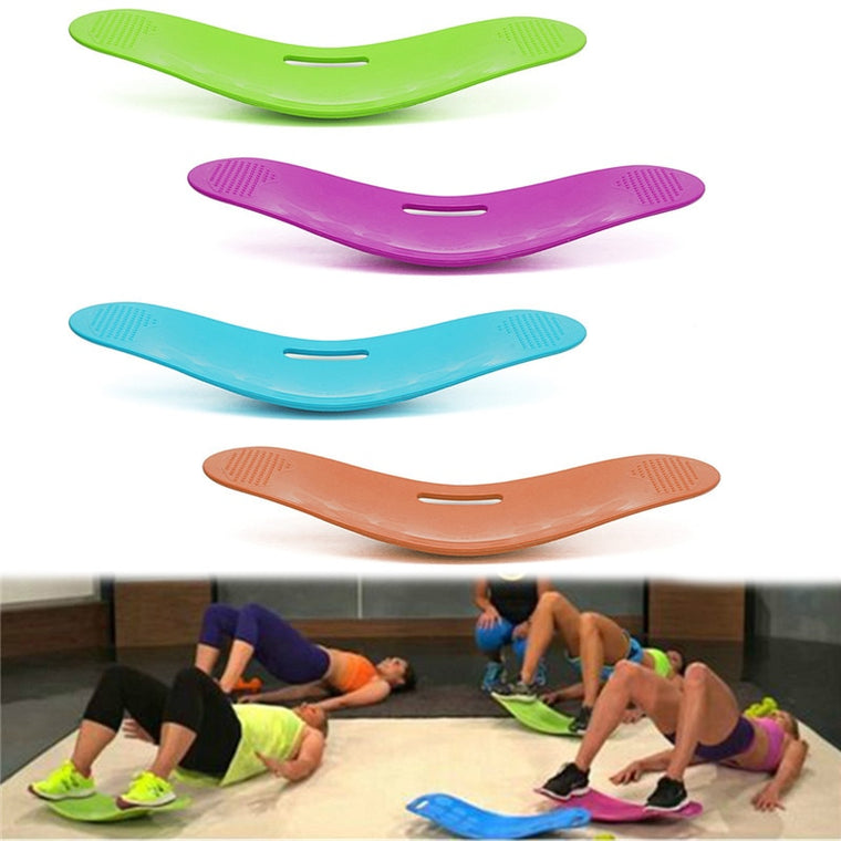 Twisting Fitness Balance Board Simple Core Workout for Abdominal Muscles and Legs Balance Fitness Yoga Board