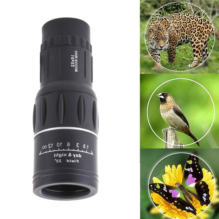 Top Quality 16X52 Mini High-Power Monocular Night Vision Telescope Mini Telescope binoculars hunting Hiking Concert telescope
