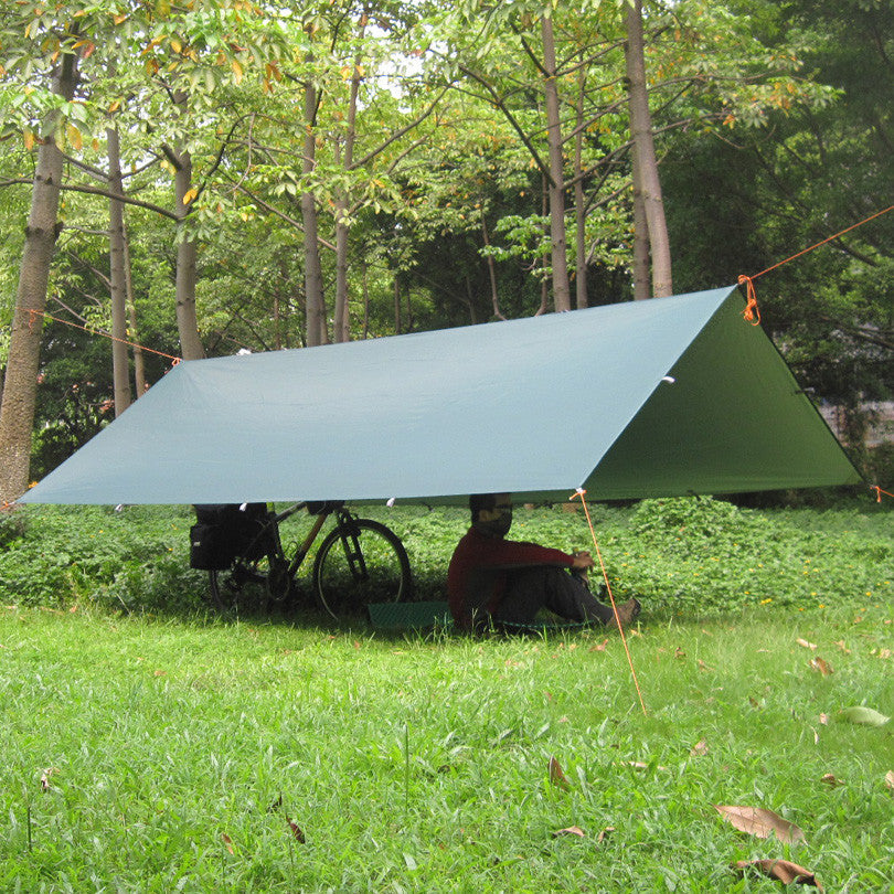 3*3m 210T with silver coating 3F UL Gear Multifunctional outdoor gazebo waterproof canopy awning sun shade shelter tent