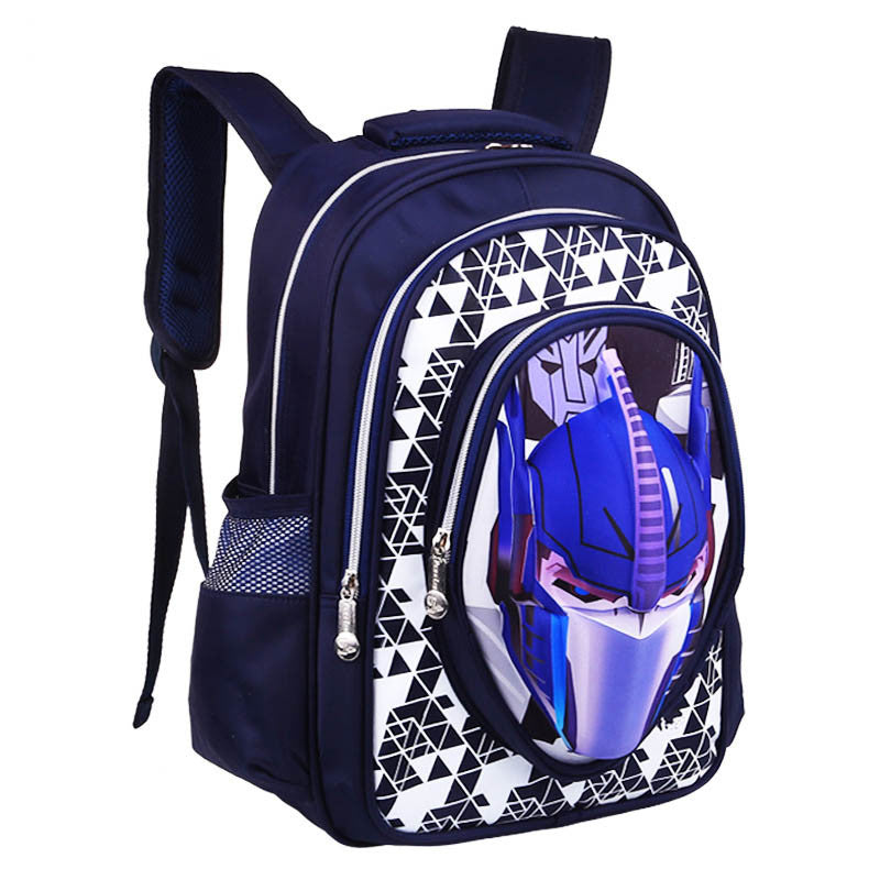 662718c4e68d 3D Cartoon Big Capacity Russia Style Orthopedic School bags For Boys Car  Ultralight Waterproof Backpack Child ...