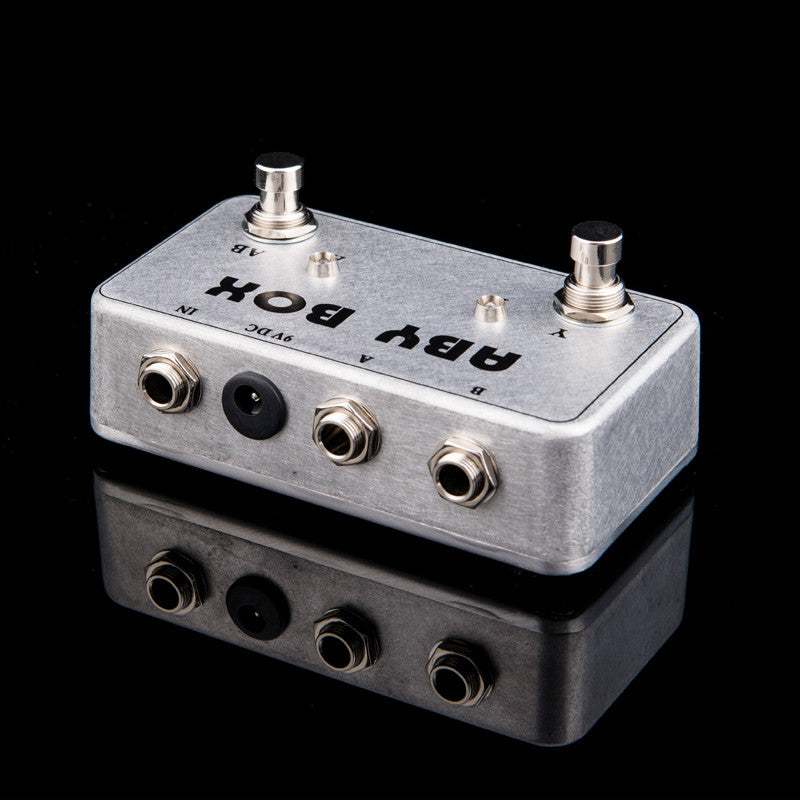 NEW  TTONE Hand made ABY selector Combine pedal Guitar Switch Box /TRUE BYPASS! Amp / guitarra pedal  AB/Y
