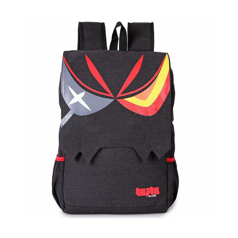 Cartoon Manga KILL la KILL Anime Matoi Ryuuko Backpacks Black Large Capacity Men And Women Ourdoor Casual Travel Backpack 561t