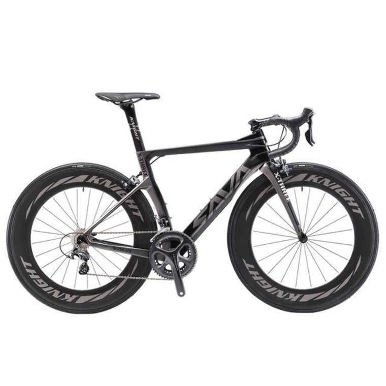 SAVA 700C Road Bike T800 Carbon Road bike Racing road bike Carbon Bicycle SHIMANO Ultegra R8000 22 Speed Bicicleta 88MM 25C Tire