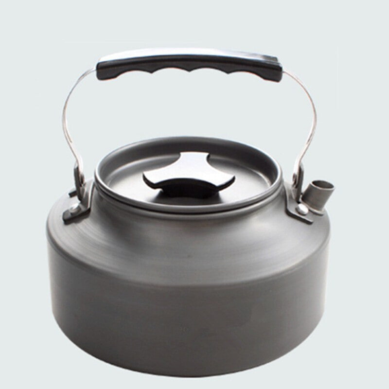 1.1L Ultralight Portable Aluminum alloy Teapot kettles Cooking Tableware For Outdoor Camping Hiking Picnic Cookware Utensils