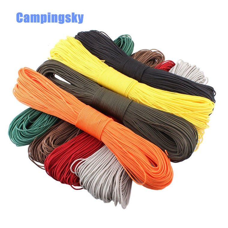 33FT 10 metre 550 Paracord Strands Parachute Cord Rope Lanyard Army camo UK