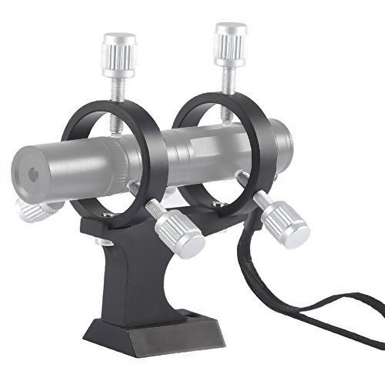 Deluxe Adjustable Laser Pointer Bracket Double-ring Convert Laser Pointer Into a Cool Finder for Telescope