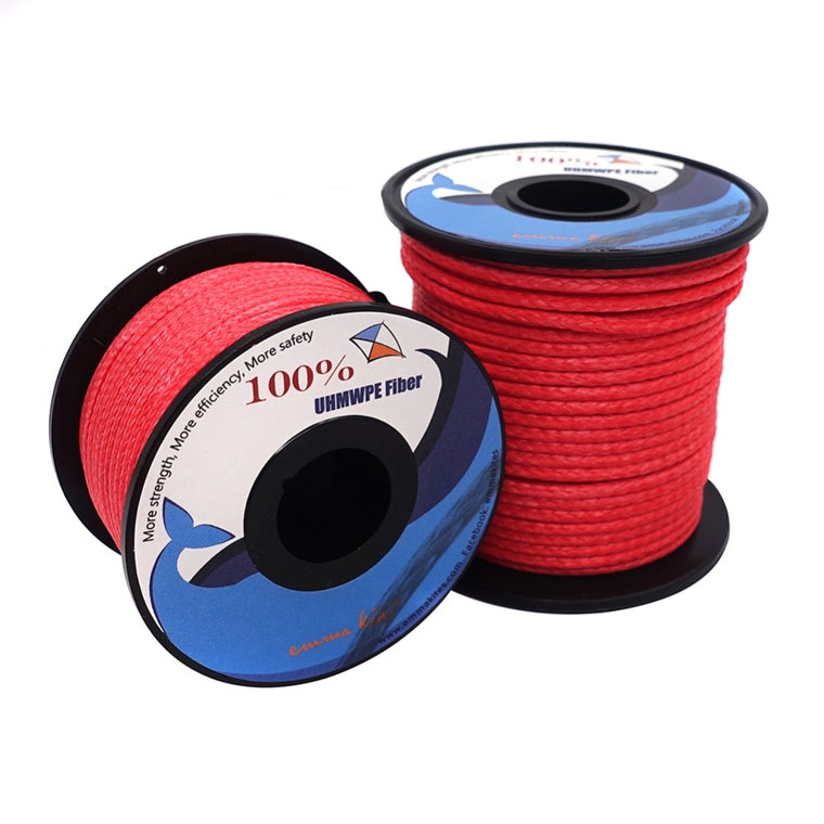 200lb - 1000lb Strong Outdoor Rope Hammock Hiking Camping Tent Guy Line General Purpose Sailboat Rope Cord Resistant to Abrasion