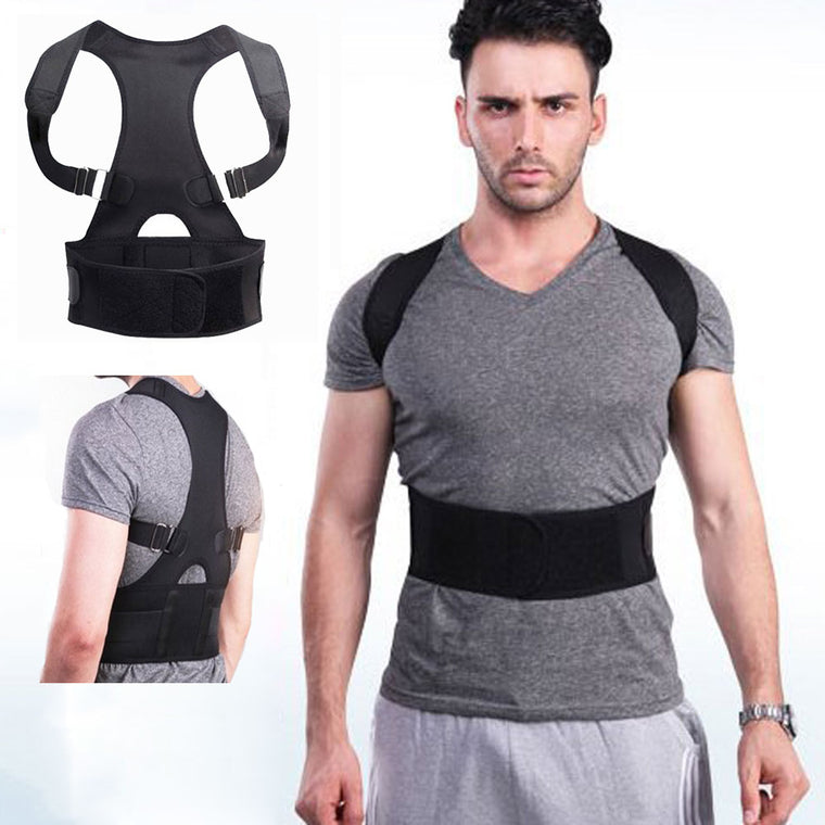 Adjustable Magnetic Therapy Posture Corrector Support Belt Shoulder Back Protect Waist And Back for Student Male Female