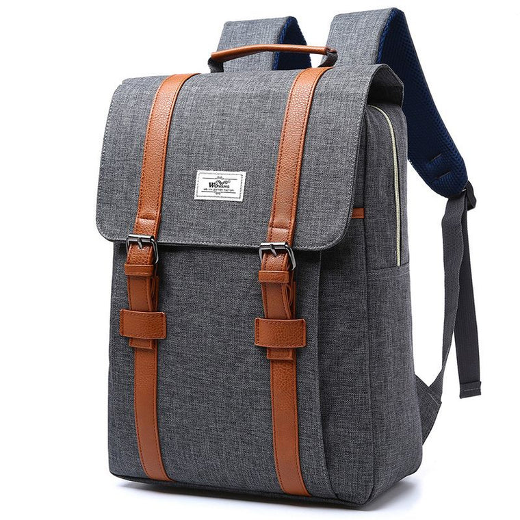 2018 Vintage Men Women Canvas Backpacks School Bags for Teenagers Boys  Girls Large Capacity Laptop Backpack ab5dd51d66816