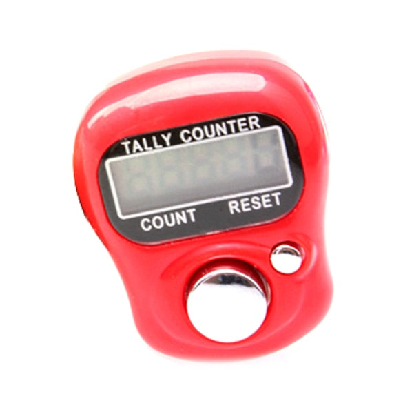 Newly  LCD Screen Electronic Digital Counter Portable Hand Operated Tally