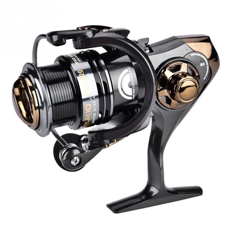 DEUKIO Bait Casting Fishing Reel 2000/3000 5+1BB High-speed 7.1:1 Spinning Reel Casting Fishing Reel Wheel Max Drag 6.5kg