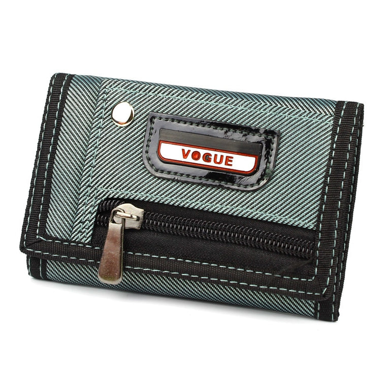Fashion Men Wallets Canvas Fabric Fold Mans Waterproof Purses Male Wallet Coin Purse Burse Moneybags Cards Holder Wallet Clips