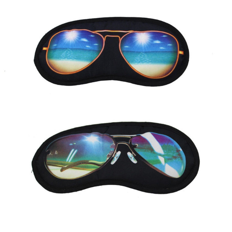 Travelling Utility Sleep Sunglasses Shade Eye Cover rest eye mask travel Sleeping Aid Fatigue Relieve Travel Accessories
