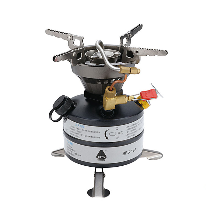 BRS Outdoor Oil Gas Multi-Use Stove Cooking Camping Stove Cooker Big fire BRS-12A
