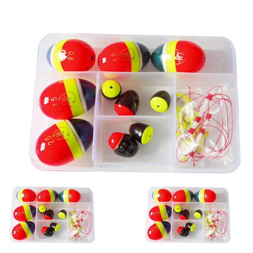 Durable Ball Sea floats for fishing Float kits Snap Box Fishing Accessories Fish Float Ocean Rock Fishing Buoy Kit Set Tackle