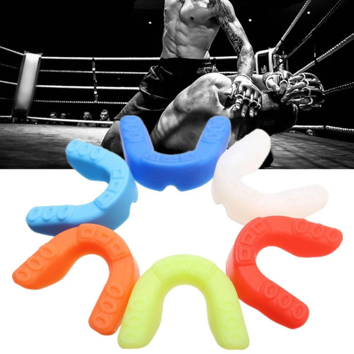 Fitness Sports Mouthguard Mouth Guard Teeth Protector For Boxing MMA Football Basketball Karate Muay Thai Safety Protection