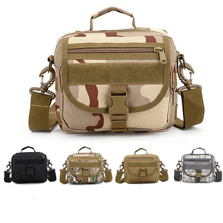 Multi-purpose Fishing Bag Outdoor Small Size Waist Backpack Fishing Tackle Messenger Shoulder Bags Handbag