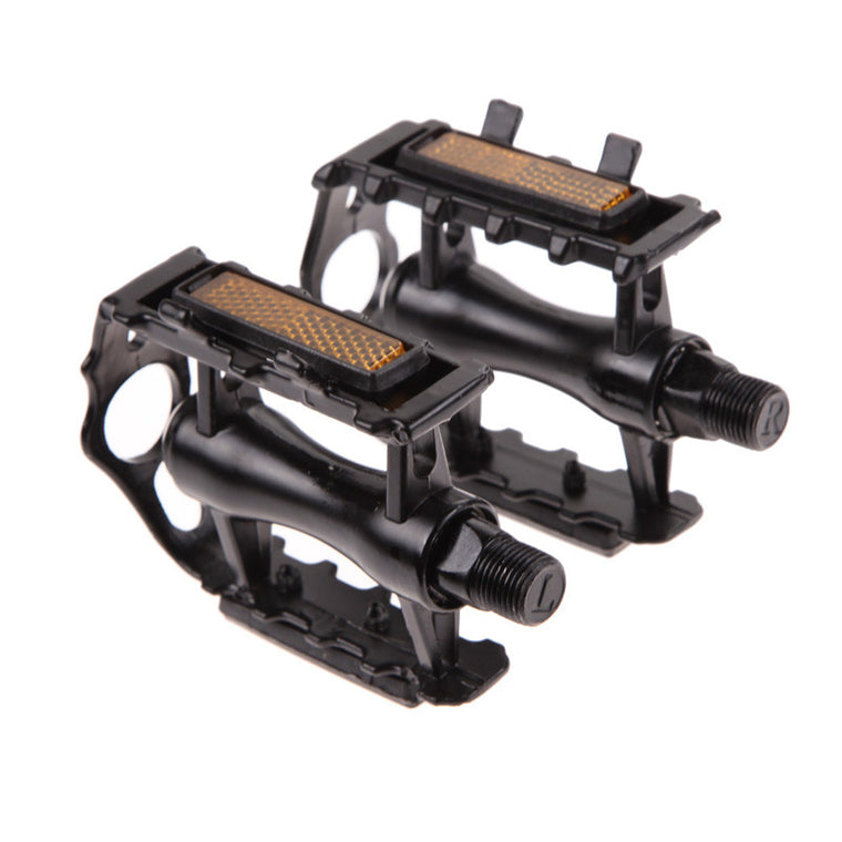 "EA14 Newest 1 Pair Bicycle Pedal BMX MTB Aluminium Alloy Mountain Bicycle Cycling 9/16"" Pedals Flat"