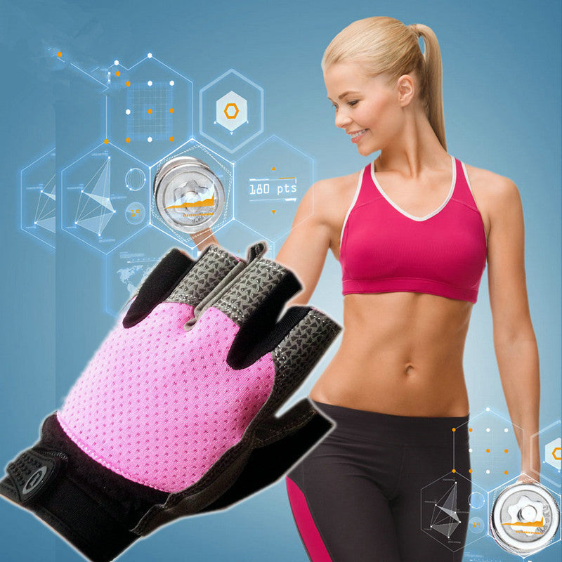 Gym Body Building Training Fitness Gloves Women Gym Fitness Gloves Sports Weight Lifting Exercise For Women Cycling Gloves
