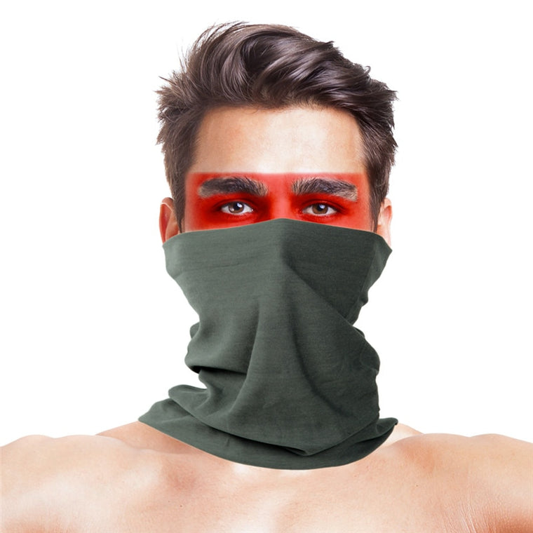 Stylish Seamless Scarf Multifunctional Climb Magic Skull Winter Face Mask KY