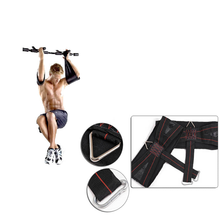 VPG-WL-AB straps01 Pair Ab Abdominal Straps for Hanging Sling Chin Up Sit Up Bar Pullup Fitness Bearing up to 150KG Heavy Duty