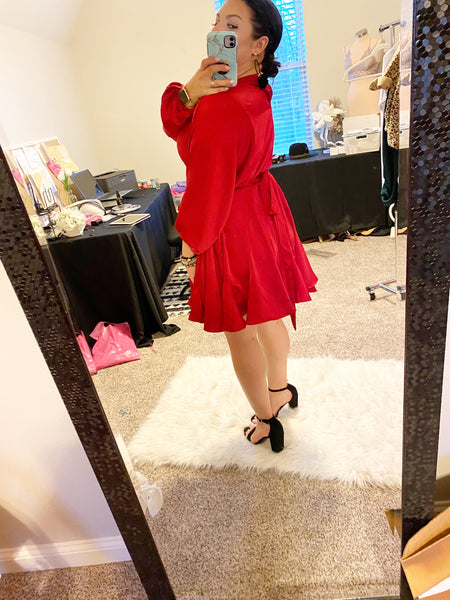 Timeless Red Dress