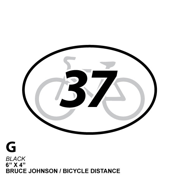 37 Mile Cycle Distance