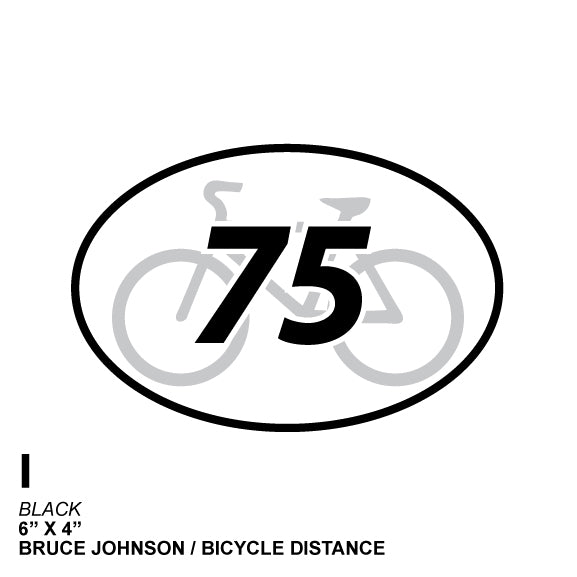 75 Miie Cycle Distance