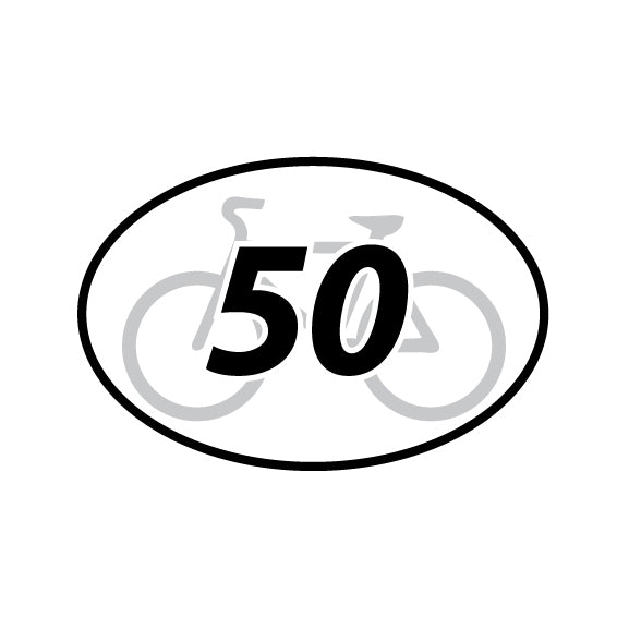50 Mile Cycle Distance (80.5k)