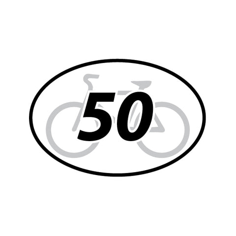 50 Mile Cycle Distance