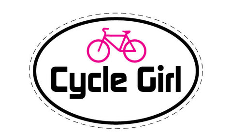 Pink Bike Cycle Girl