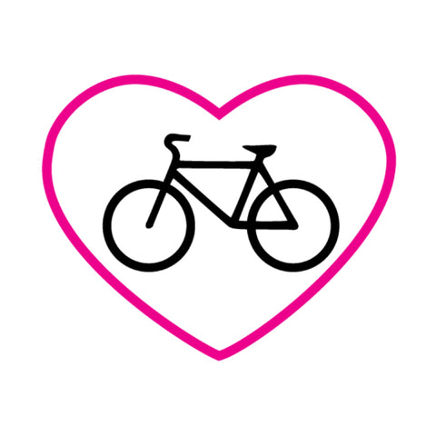 Bike in Pink Heart