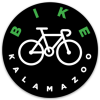 """Bike Kalamazoo"" Bicycle Sticker"
