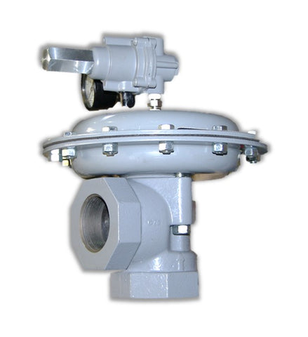 BelGAS P1808 Pilot Operated Relief Valve (Right Angle Body)