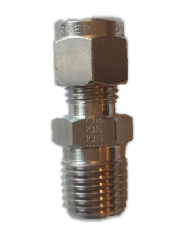 Stainless Steel Compression Fitting Connector