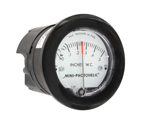 DWYER MiniHelic Differential Pressure Gauge