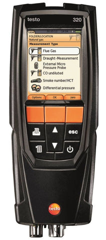 Testo 320 Combustion Analyzer