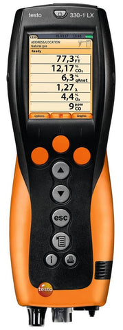 Testo 330-1 LX Combustion Analyzer Kits