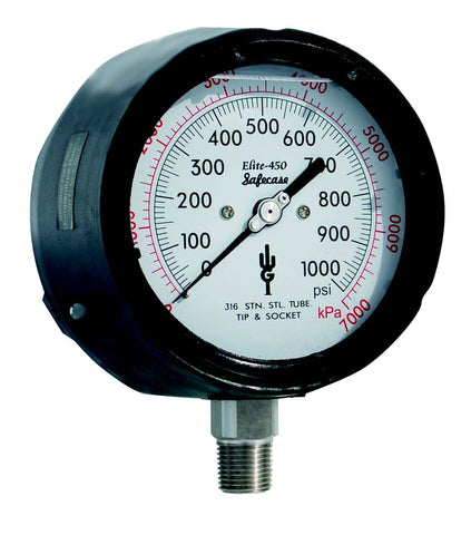 Elite 450 Process Pressure Gauges (NACE) (QTY: 1)